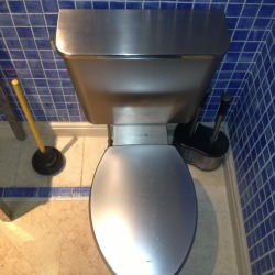 Repair Stainless Steel Toilet