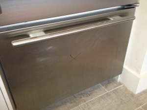 Stainless Steel Stove Restoration