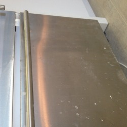 Stainless Steel Stove Scratched Door Repair