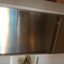 stainless steel appliance refrigirator repair