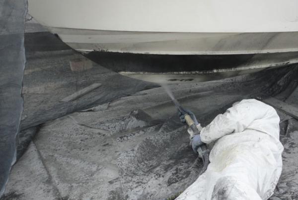 SODA-BLASTING Yacht Cleaning Restoration Repairs
