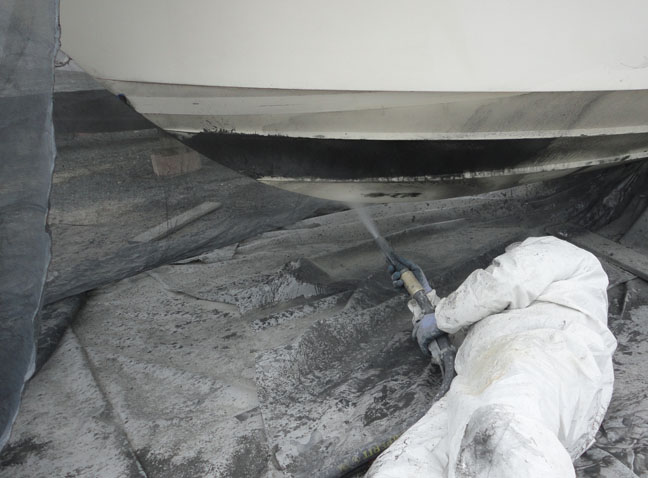 SODA-BLASTING Yacht Cleaning Restoration Repairs