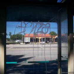 Wendys jupiter florida graffiti removal